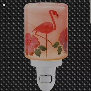 Scentsy flamingo nightlight retired new